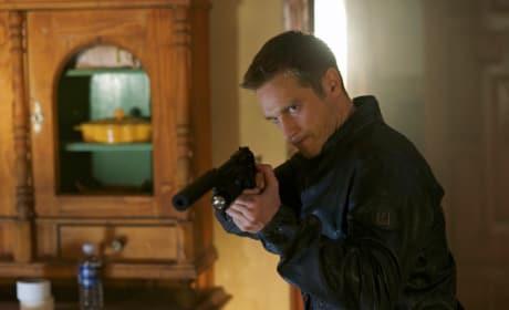 Owen with a Gun