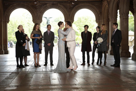 Chuck and Blair Wedding Photo