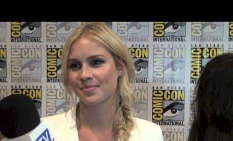 Claire Holt Comic-Con Interview