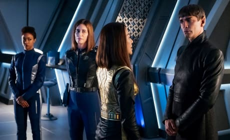 Emperor Georgiou In Prime Universe - Star Trek: Discovery Season 1 Episode 14