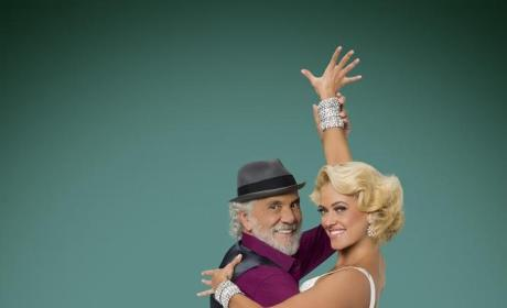 Tommy Chong and Peta Murgatroyd - Dancing With the Stars