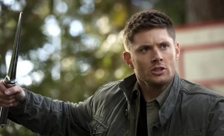 Dean with a Blade