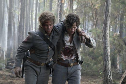 In the Civil War - The Vampire Diaries Season 7 Episode 10
