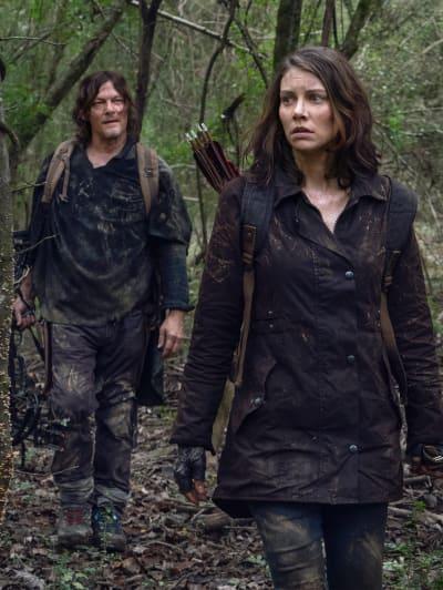 A Tense Meeting - The Walking Dead Season 10 Episode 17