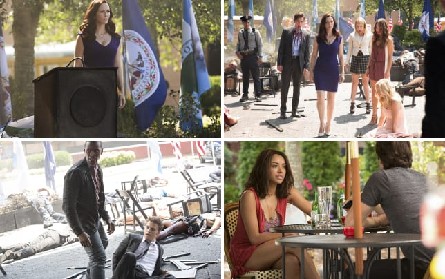 Lily in charge the vampire diaries s7e1