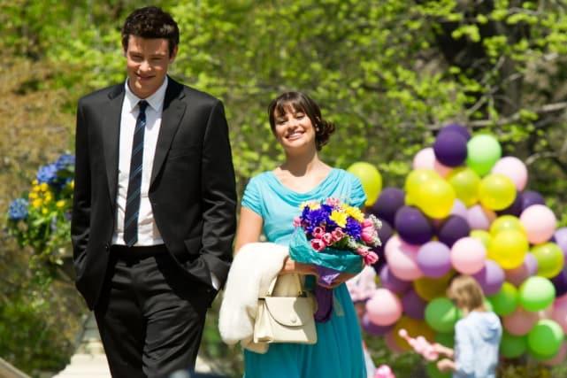 Rachel and Finn (Glee)