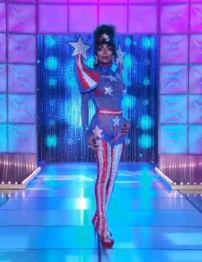 Jaida Essence Hall Political Runway - RuPaul's Drag Race Season 12 Episode 9