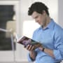 Daniel Reads Sofia's Book