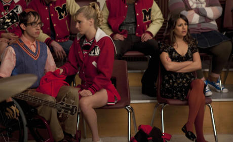 Glee Super Bowl Episode Photo