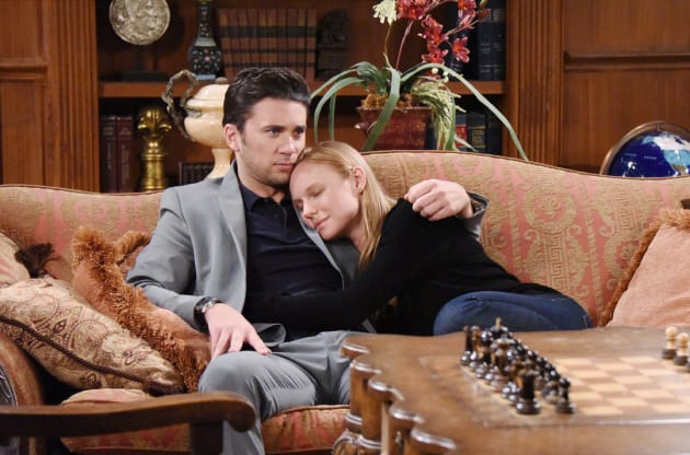 Chad and Abby Share a Moment - Days of Our Lives