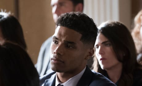 Gabriel Looks On - How To Get Away With Murder Season 5 Episode 7