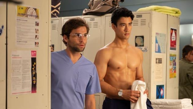 Nico and Levi - Grey's Anatomy