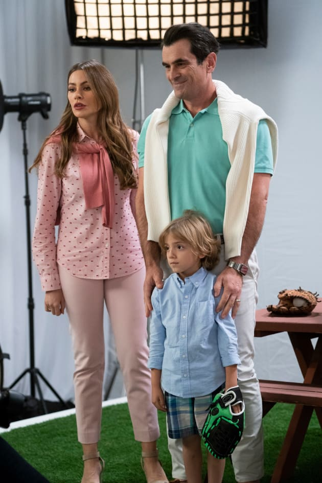 Phil, Gloria, and Joe - Modern Family Season 10 Episode 13