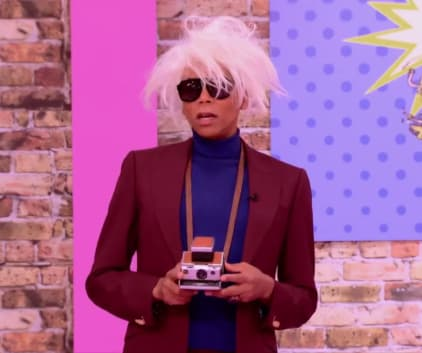 Andy Warhol - RuPaul's Drag Race All Stars
