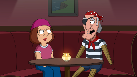 Meg on a Date - Family Guy Season 16 Episode 4