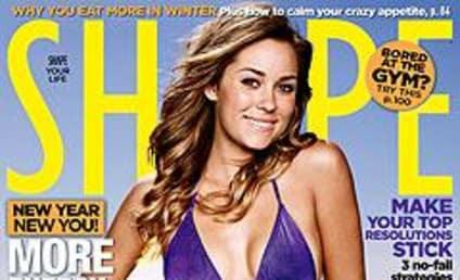 Lauren Conrad on Cover of Shape Magazine