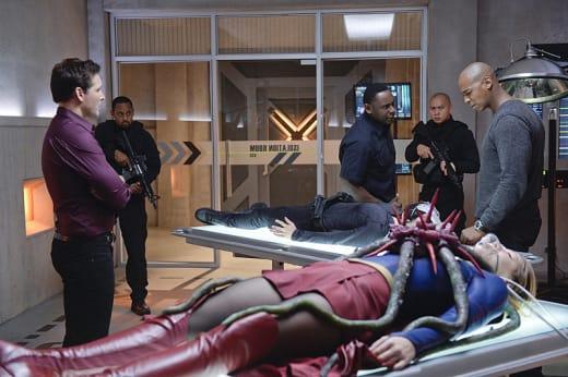Saving Kara - Supergirl Season 1 Episode 13