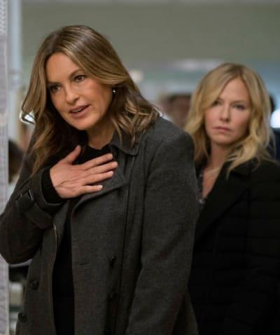 Benson Gets Emotional - Law & Order: SVU Season 20 Episode 17