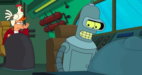Fry & Bender On the Hunt