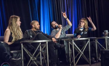 Chelsey Reist, Jarod Joseph, Sachin Sahel, and Jessica Harmon - Unity Days 2018 - The 100