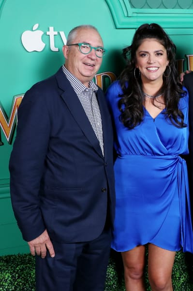Barry Sonnenfeld with Cecily Strong - Schmigadoon!