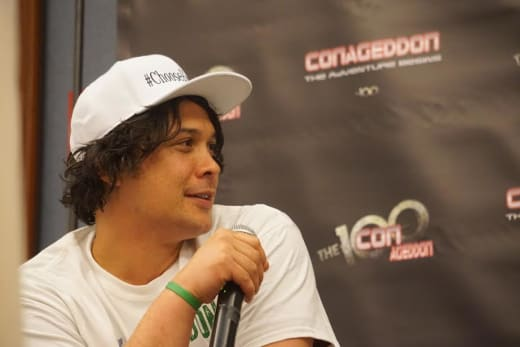 Bob Morley at Conageddon 2019 - The 100
