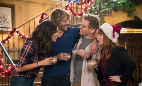 Celebrating the Holiday - NCIS: Los Angeles