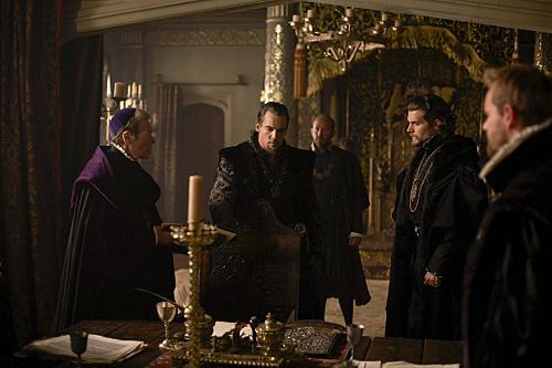 Scene from the Tudors