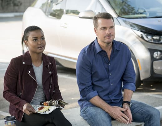 Out of the Office - NCIS: Los Angeles Season 9 Episode 5