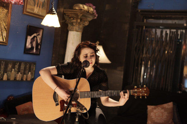 On Open Mic Night