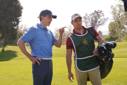 Torres Plays Caddy for Jimmy - NCIS Season 15 Episode 23