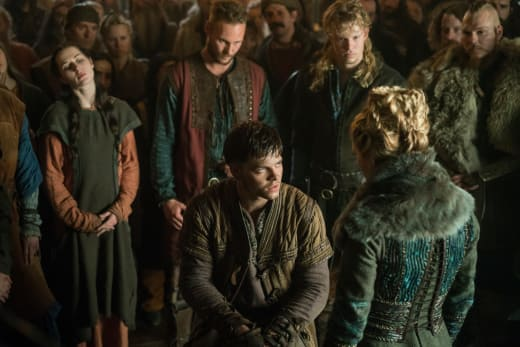 Ivar Demands Justice - Vikings Season 4 Episode 16