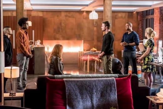 Double The Teams - Arrow Season 6 Episode 10