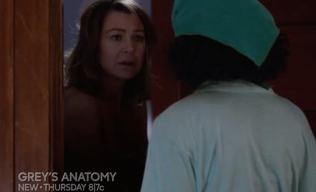 Grey's Anatomy Sneak Peek: GET OUT!