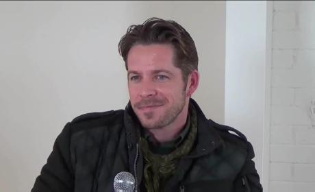 Sean Maguire Set Interview