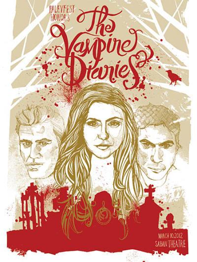 Vampire Diaries PaleyFest Poster