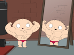 Juiced Up Stewie