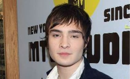 An Ed Westwick Sighting!