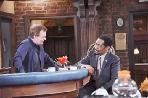 Days of Our Lives: Abe Carver and Roman Brady