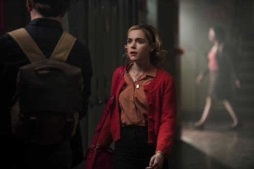 Sabrina at Greendale - Chilling Adventures of Sabrina Season 1 Episode 8