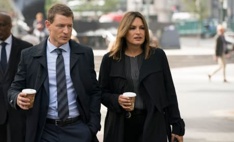Stone and Benson - Law & Order: SVU