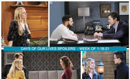 Days Of Our Lives Spoilers Week of 1-18-21: Gwen's Motive Comes Out!