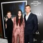 Mireille, Esme, and Joel - Tall at Hanna Premiere NYC