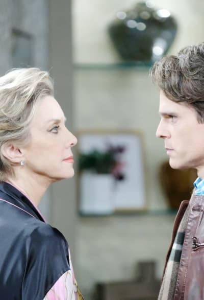 (TALL) Confronting His Mother - Days of Our Lives