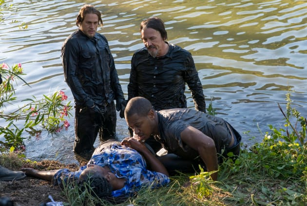 Leather in Water - Sons of Anarchy