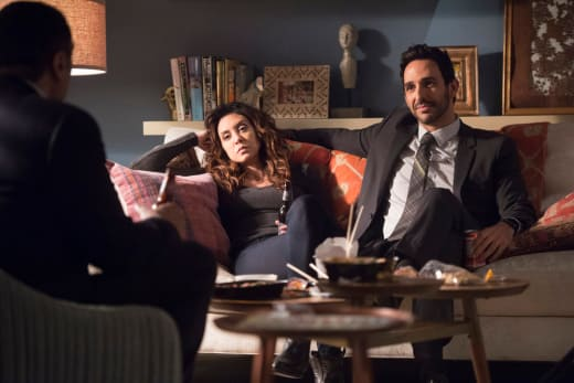 Aram and Samar - The Blacklist Season 5 Episode 9