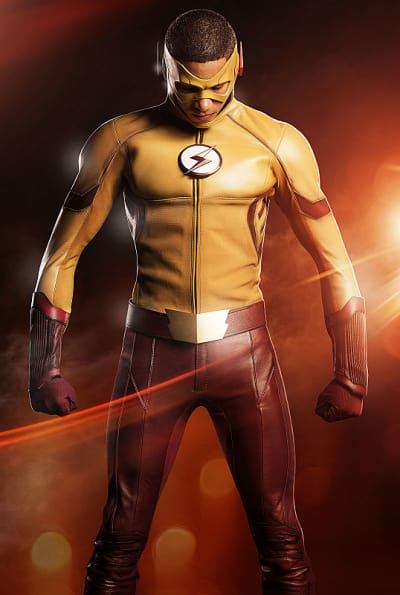 Powerful Kid Flash - The Flash