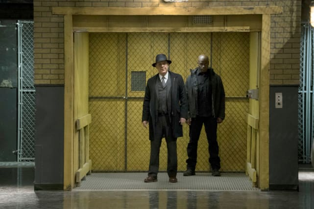 Red and Dembe make a grand entrance - The Blacklist Season 4 Episode 14