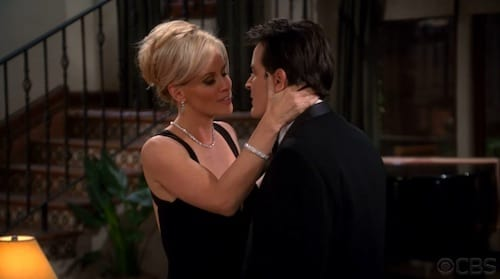 Charlie and Courtney Kiss