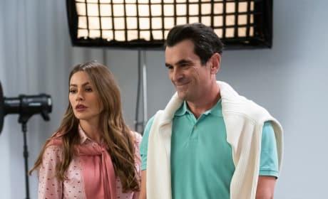 Phil, Gloria, and Joe - Modern Family Season 10 Episode 13